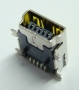 Gn.USB mini B do druku 5styk.SMD
