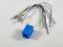Wtyk mini ISO niebieski