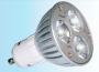 Żarówka LED 230V GU10 3x1W biały zimny  Typ A NEXTEC